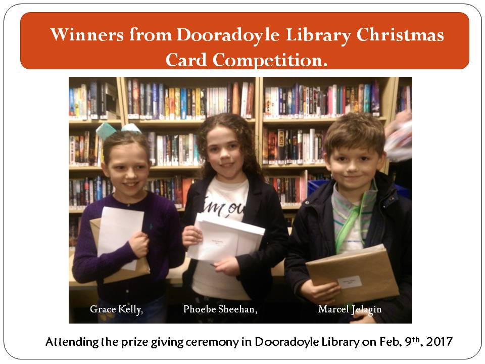 Dooradoyle Library Christmas Card Competition