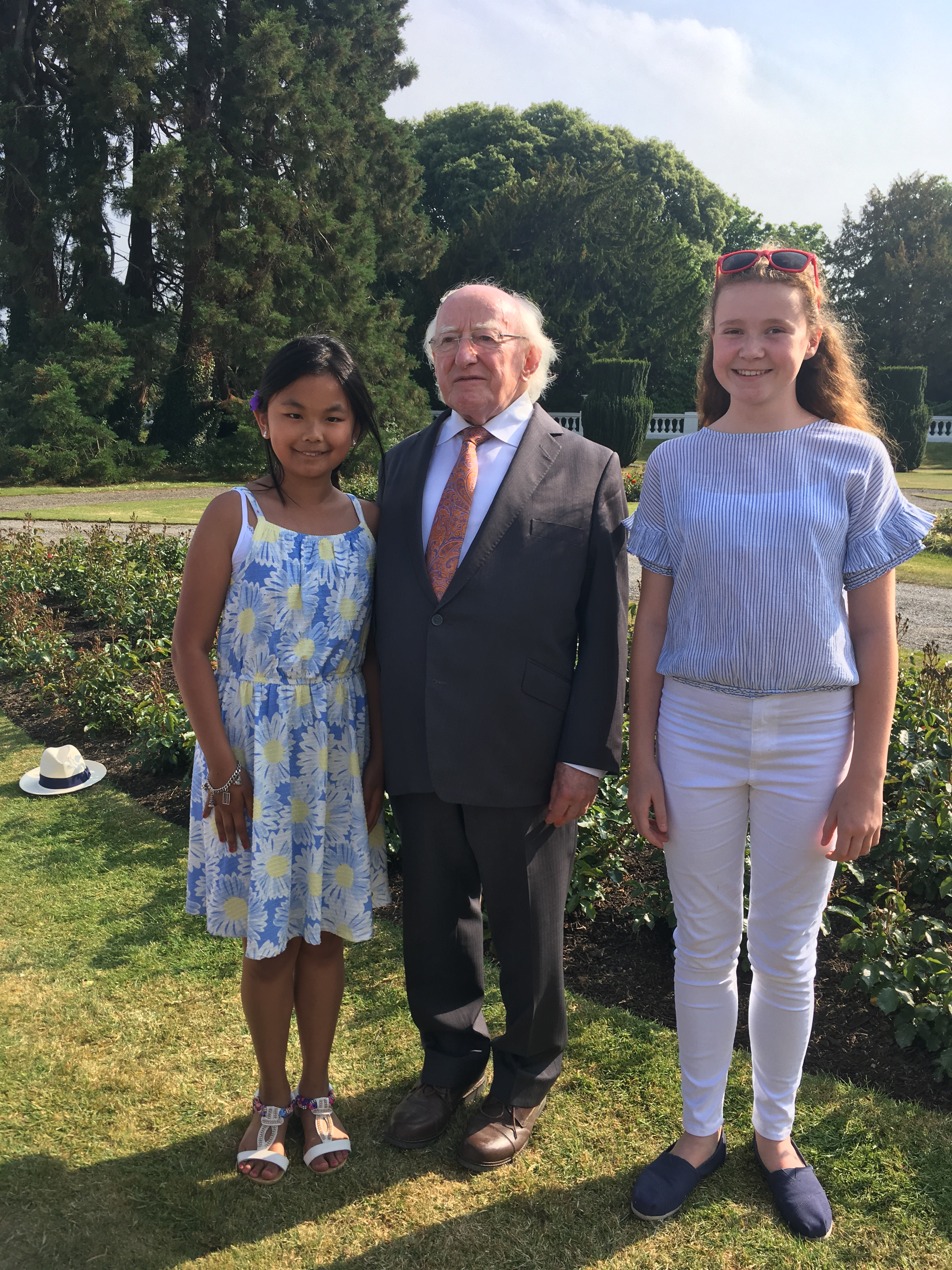 Garden Party with President Michael D. Higgins