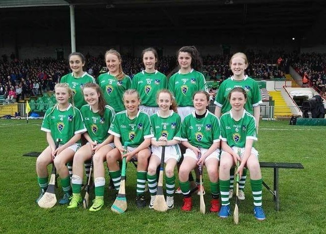 Camogie Team with some St. Pauls representatives