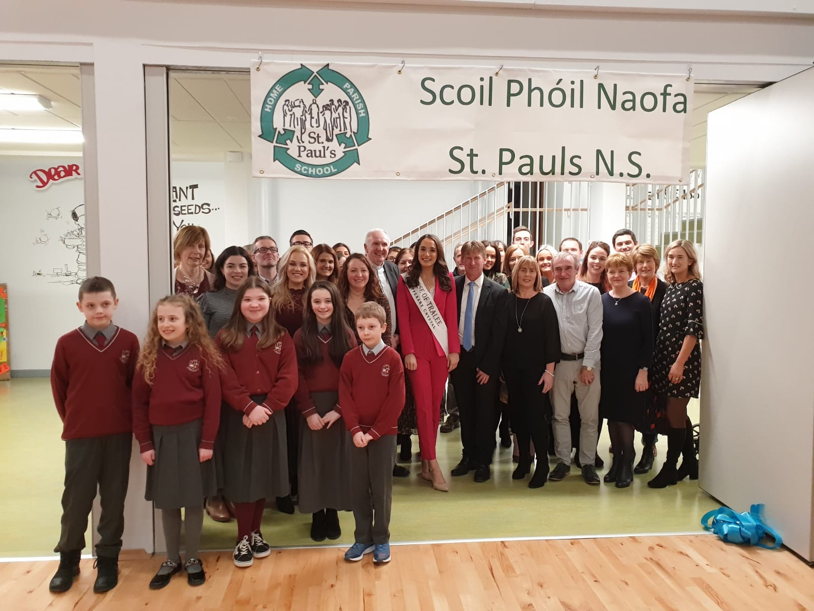 Re-opening Ceremony at St. Pauls National School